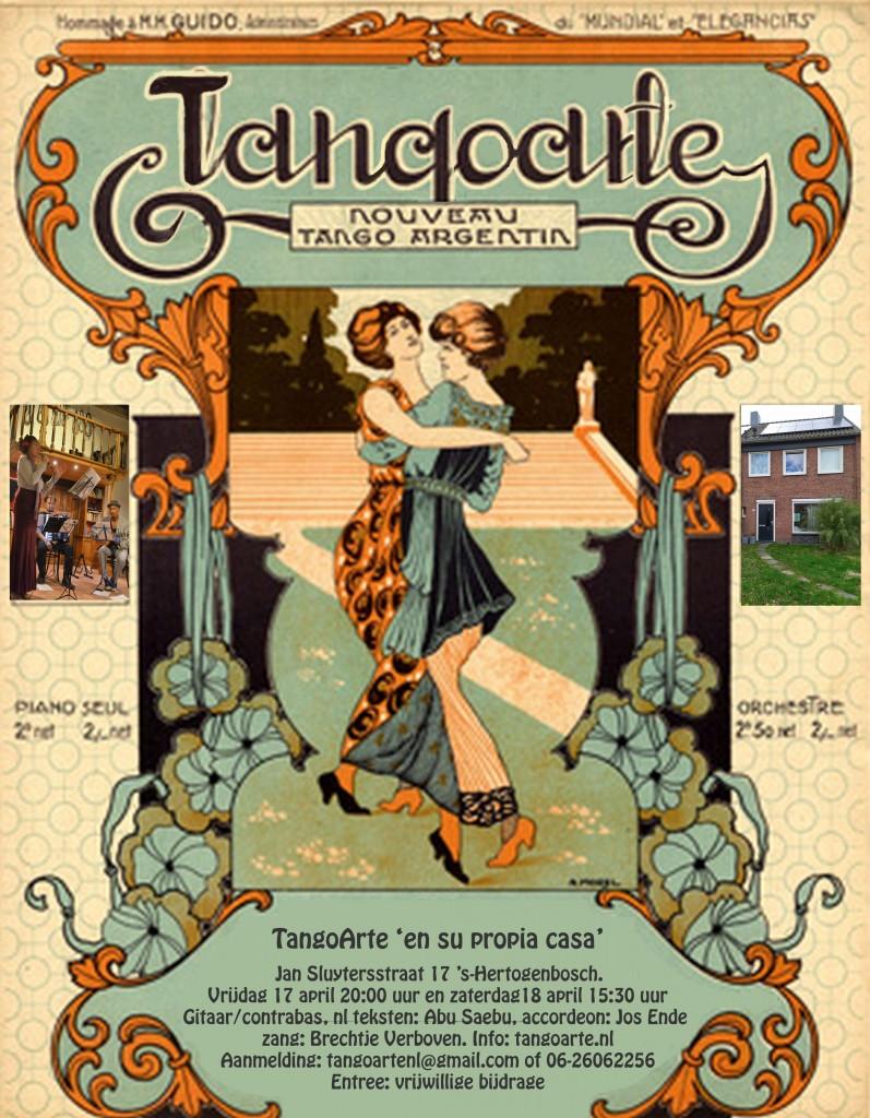 Optreden TangoArte Jan Sluytersstraat 17